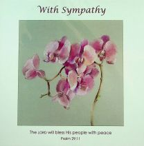 Sympathy Card CJJ25
