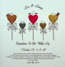 Wedding Card SA601