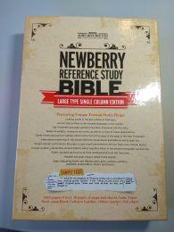 Newberry Reference Study Bible, Single Column