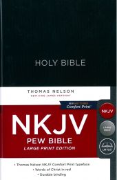 NKJV Pew Bible, Large Print