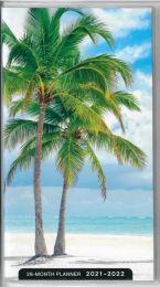 28-Month Planner 2021-2022 (Beach)