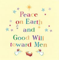 Christmas Card, Peace on Earth, 15332