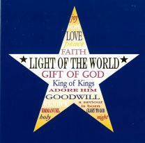 Christmas Cards , Star with Words, L1924