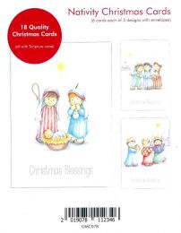 Christmas Card Box of 18 GMC078