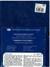 Emerald Text Bible, 5BTI-Black