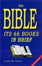 The Bible its 66 Books in Brief