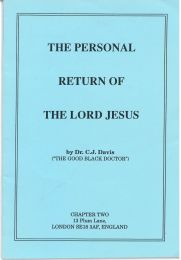 The Personal Return of the Lord Jesus