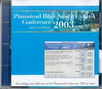 Plumstead Bible Study Conference 2003 (CD)