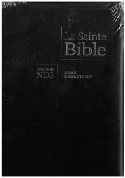 Holy Bible French NEG Large Print, ZIP, 11890