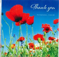 Thank You Card 9121