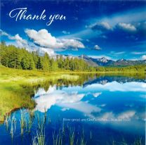 Thank You Card 9125