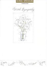 Sympathy Card LDOS086