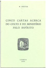 Five Letters on Worship and Ministry (Portuguese)