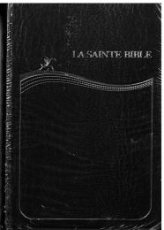 French Pocket Bible SB1031