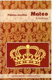 Studies in Matthew's Gospel - Platicas sencillas Mateo