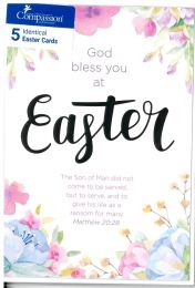 Easter Card CS2729X - 5 Cards
