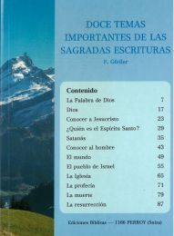 12 Important Subjects - Doce Temas Importantes de las Sagradas Escrituras