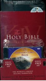 Whole Bible, CDs, read by A. Scourby