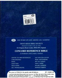 Concord Reference Bible, C8B