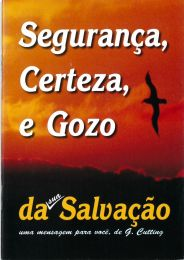 Safety, Certainty and Enjoyment - Portuguese