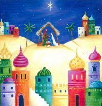 Christmas Card, Teal Press VC8/102