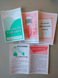 Tracts, different titles (Yoruba)