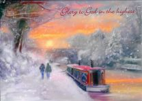 Christmas Card, Christmas on the Canal, GMC084